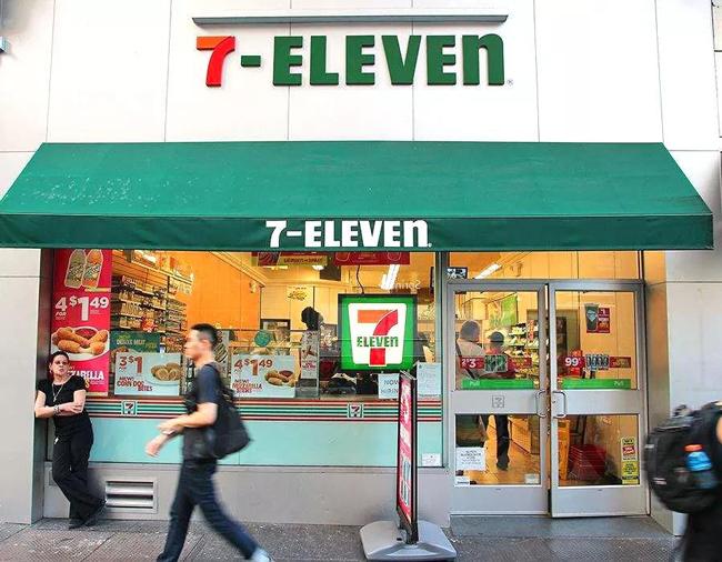 7-11店铺图
