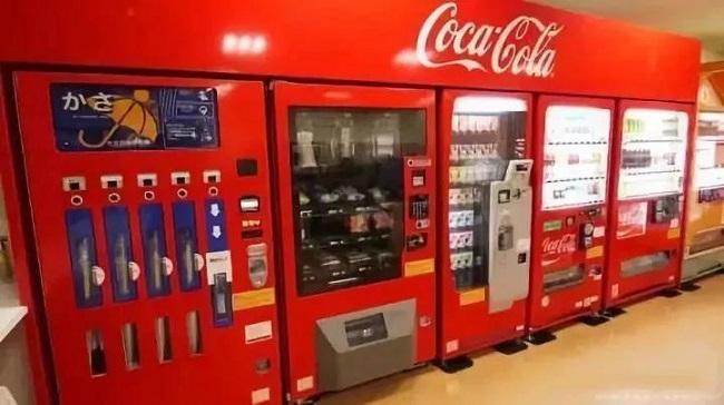 可口可乐售货机