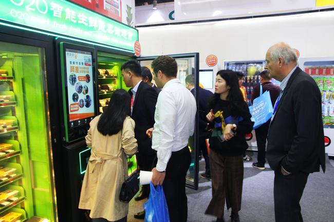 广州会展上惠逸捷客户参观图